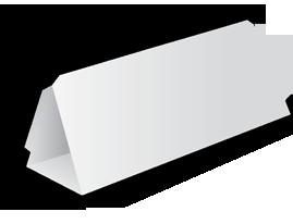 Домик-пирамида с размерами